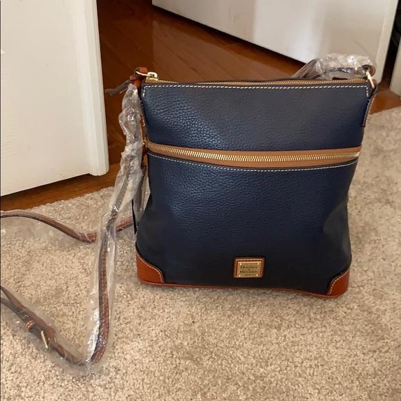 Dooney & Bourke Handbags - Dooney & Bourke Crossbody- Midnight Blue